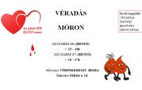 Véradás Móron